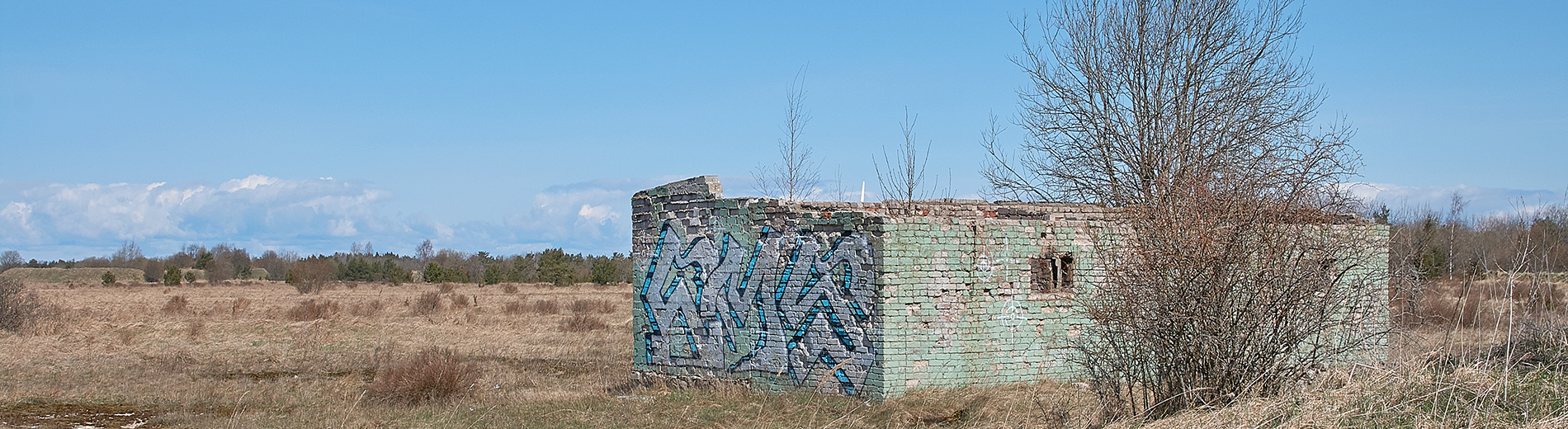 Former missile base at Türisalu